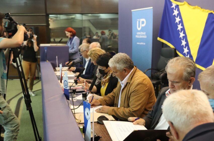Predstavnici Udruženja poslodavaca FBiH i šest industrijskih sindikata danas su u Sarajevu potpisali zajedničku platformu za vođenje socijalnog dijaloga